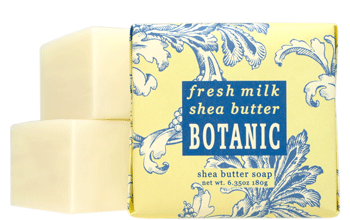 Fresh Milk Shea Butter Bath Bar Soap Set (3)
