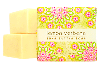 Lemon Verbena Bath Bar Soap Set (3)