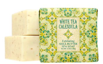 White Tea Calendula Bath Bar Soap (3)