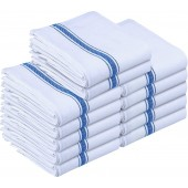 Premium Quality Dish Towels 12-Pack-Blue