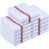 Premium Quality Dish Towels12 Pack-Red